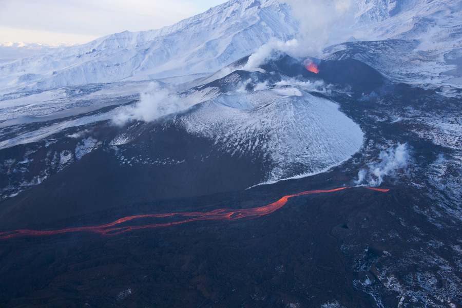 Извержение вулкана Толбачик на Камчатке, The Eruption of Tolbachik Volcano in Kamchatka