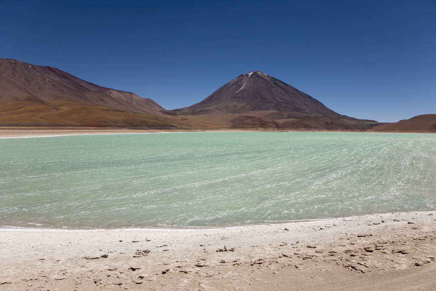 Джип-тур в Боливии, Лагуна Верде. Jeep Tour in Bolivia, Laguna Verde