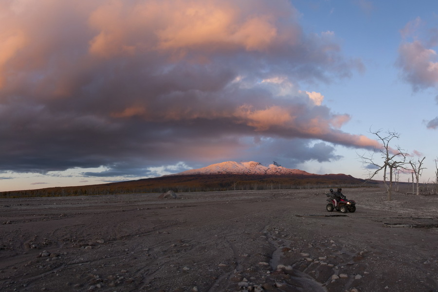 квадрациклы, atv, clouds, kamchatka